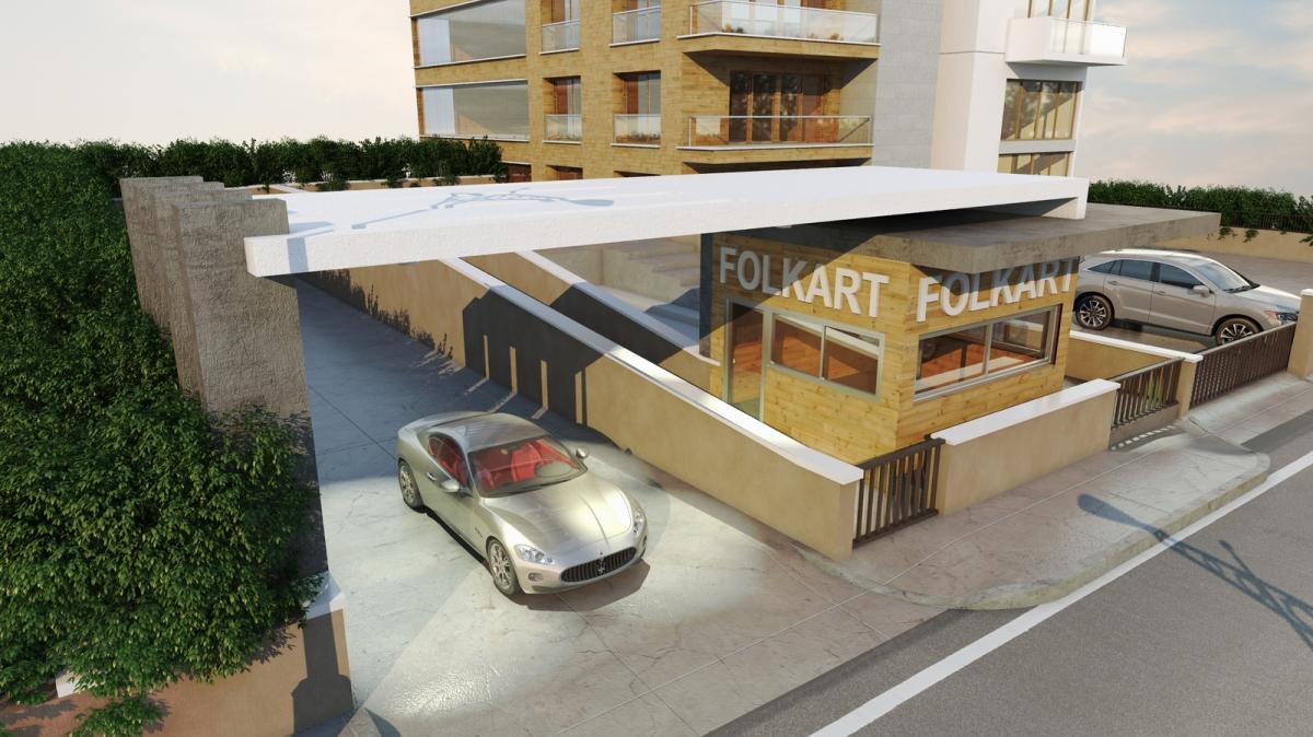 Folkart Entrance Shelter