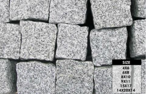 0 606-Granite Cubes