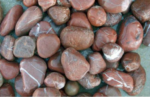River Pebbles 0 702-Red Brown Pebbles