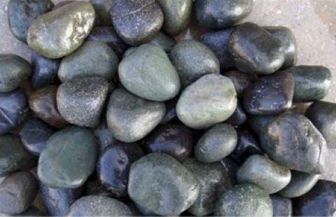 River Pebbless 0 703-Dark Green