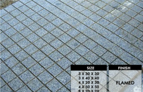 Sawn Square Grouting Floor